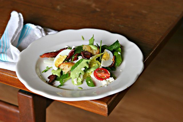 blt salad with creamy avocado dressing creamy avocado dressing blt ...