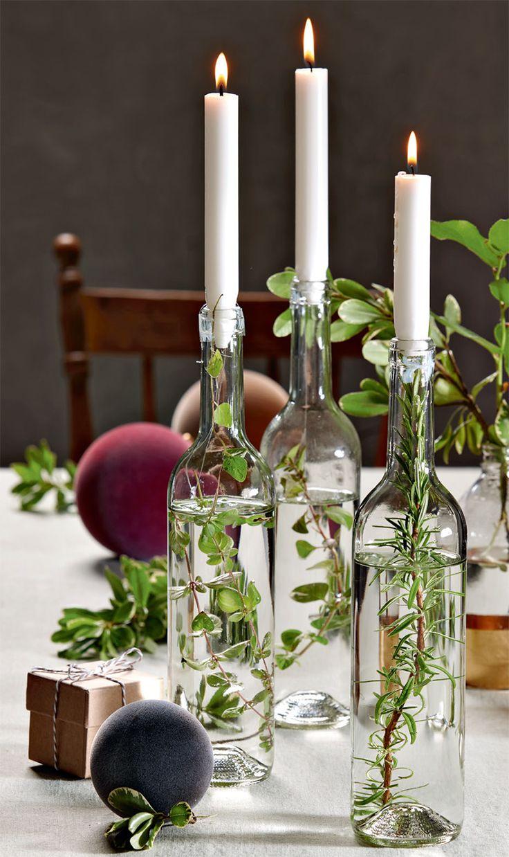 Déco: three tables festives pour Noël