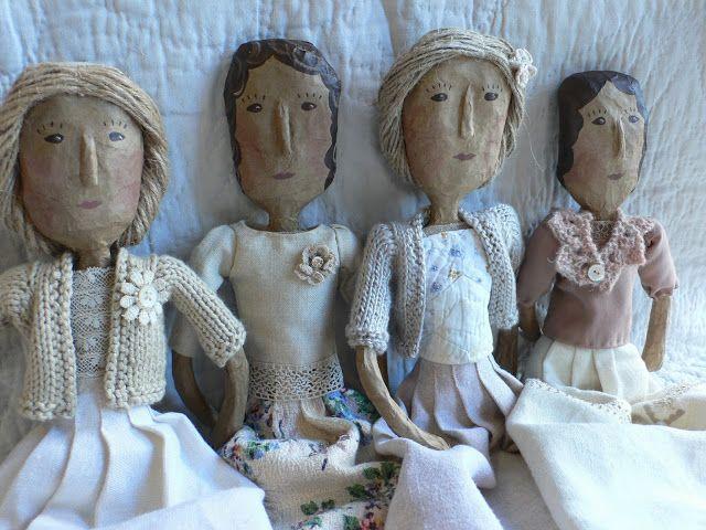 gentlework: Dolls for Selvedge