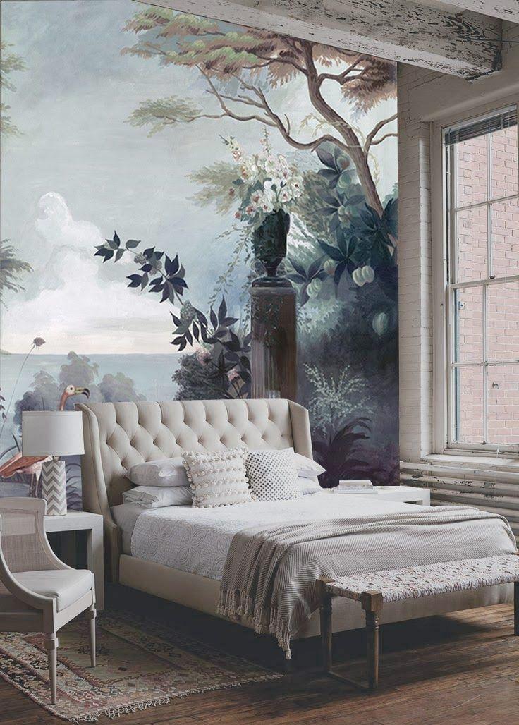 die besten 25+ wandmalereien ideen auf pinterest | wandbilder, Schlafzimmer