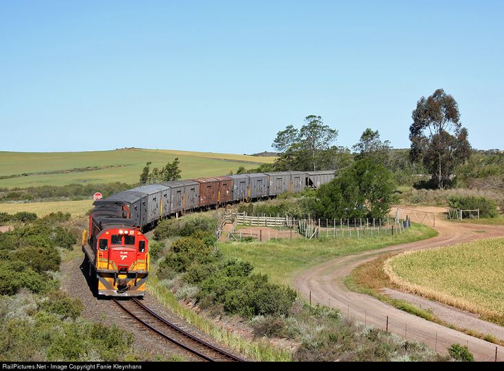 35468 Transnet Freight Rail CLASS 35-400 TYPE GE U15C at Western Cape, South Africa by Fanie Kleynhans