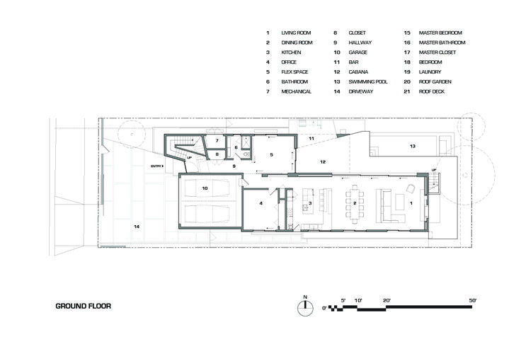 Gallery of Croft Residence / AUX Architecture - 23