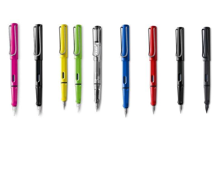 Lamy Füller Füllhalter Feder M - mit Farb- und Tintenpatronenauswahl   eBay