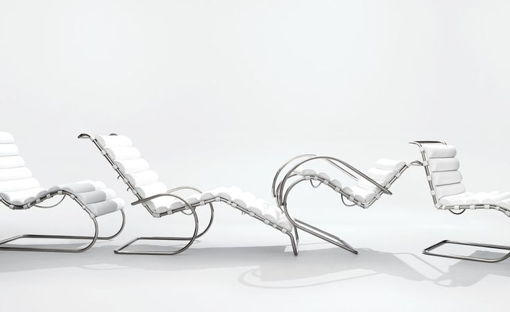 MR Lounge chair___by Ludwig Mies Van Der Rohe___1927