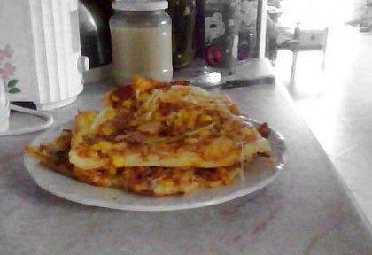 Gluténmentes pizza csak rizslisztből | NOSALTY – receptek képekkel