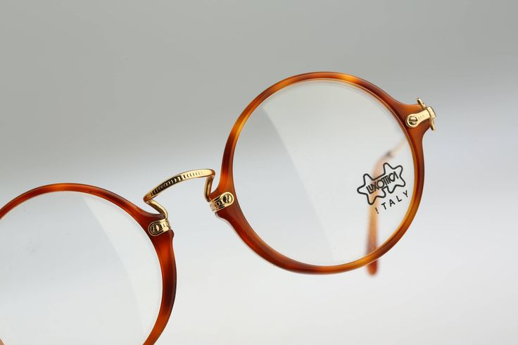 Luxottica Mod 3098 L163/ Vintage  eyeglasses / NOS / 80's  rare and unique by CarettaVintage on Etsy