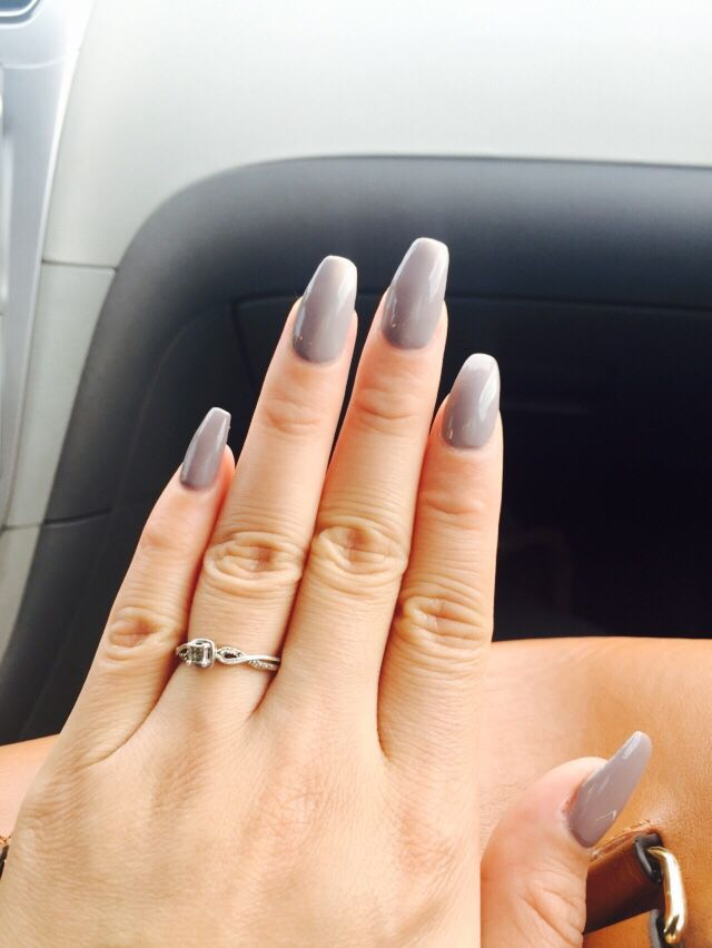 Taupe- less beach OPI nail color