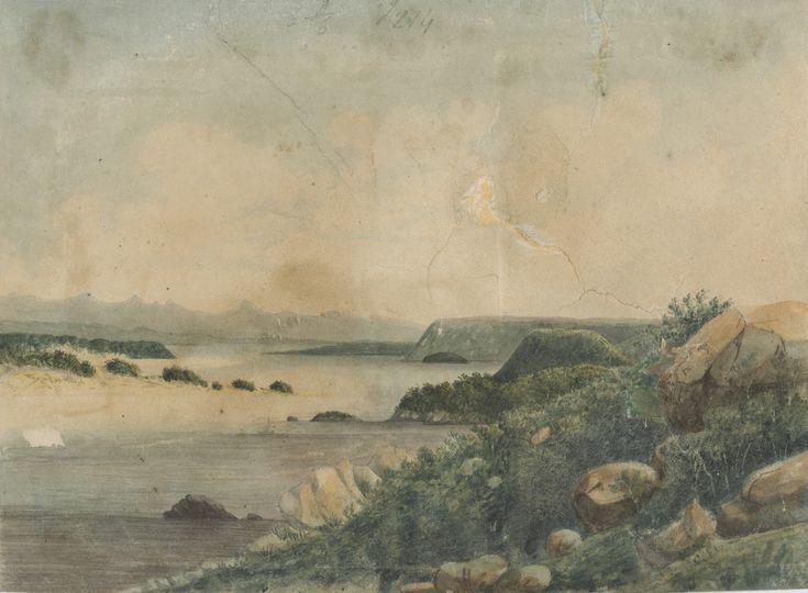 Entrance of Macquarie Harbour, Van Diemen's Land, 1819; Phillip Parker King, 1791-1856