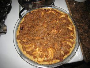 ginger gold apple pie