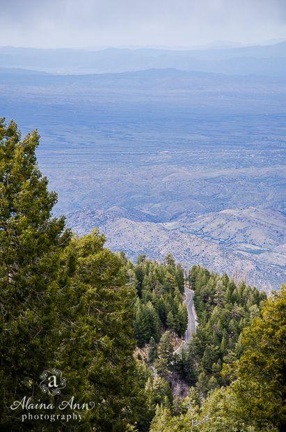 Mount Lemmon Road in Tucson, Arizona   Alaina Ann Photography