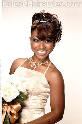 African American Wedding Hairstyles That Dazzle