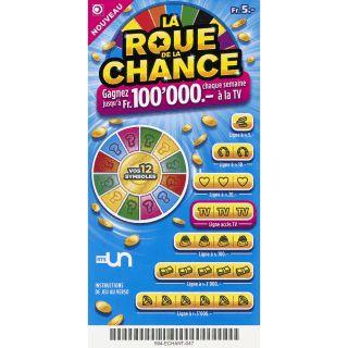 """LOTERIE ROMANDE --> 25x 2 billets de la Loterie Romande: """"La Roue de la Chance"""" à gagner!"""