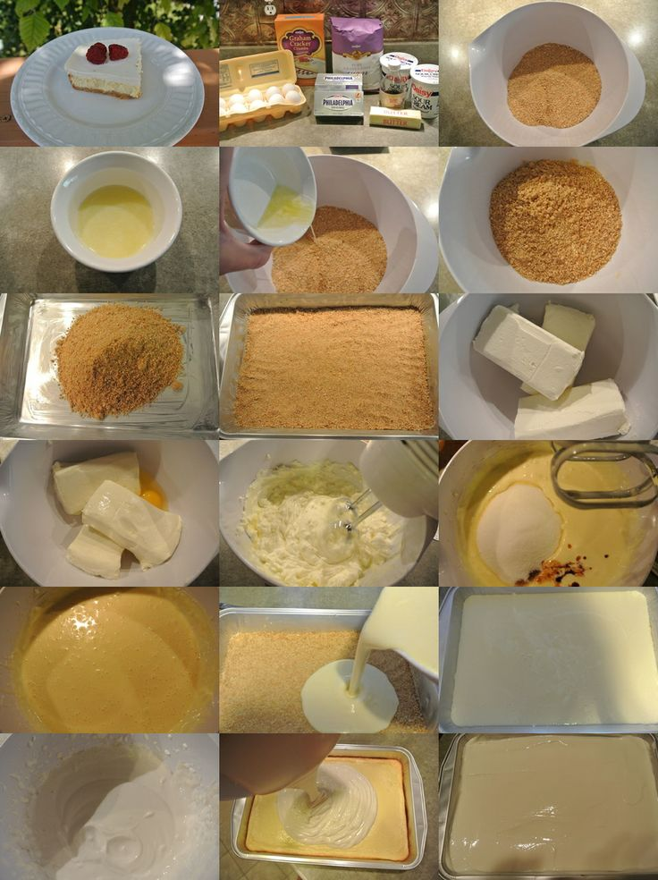 How to make your own delicious summer cheesecase step by step DIY instructions
