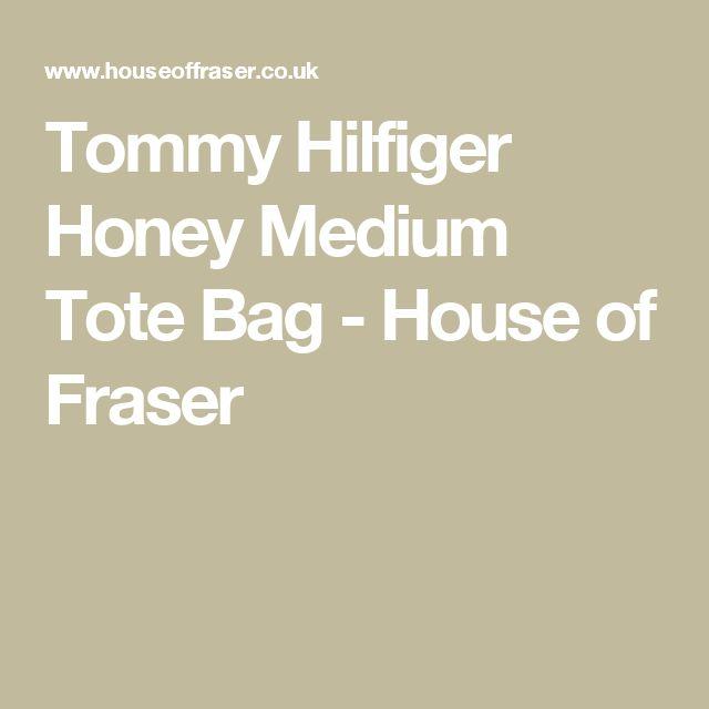 Tommy Hilfiger Honey Medium Tote Bag - House of Fraser