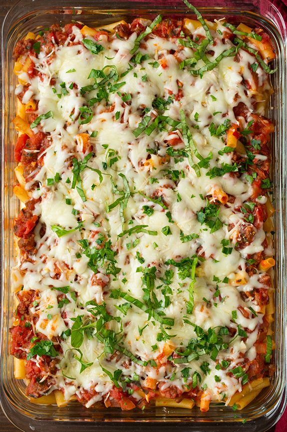 Baked Ziti   Cooking Classy