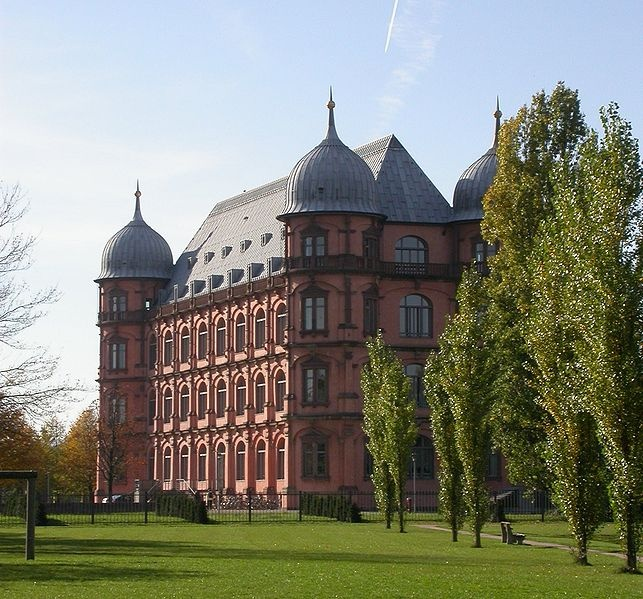 Awesome Karlsruhe Germany shown Schloss Gottesau which is now a Music College