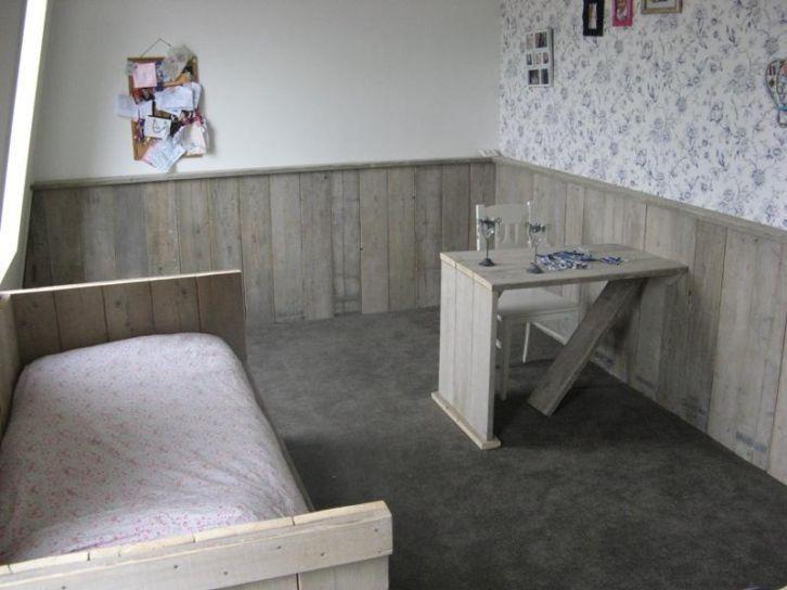 Inrichting Woonkamer Steigerhout : Lambrisering in de woonkamer google zoeken babykamer in