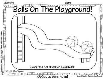 I CAN BE A SCIENTIST EXPLORING FORCE AND MOTION! - TeachersPayTeachers.com