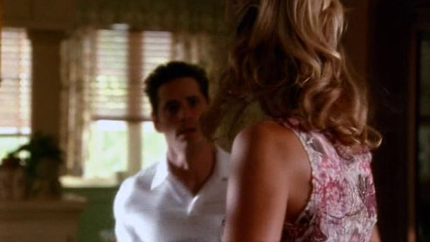 """Burn Notice 2x04 """"Comrades"""" - Nate Westen (Seth Peterson) & Katya (Emily Foxler)"""