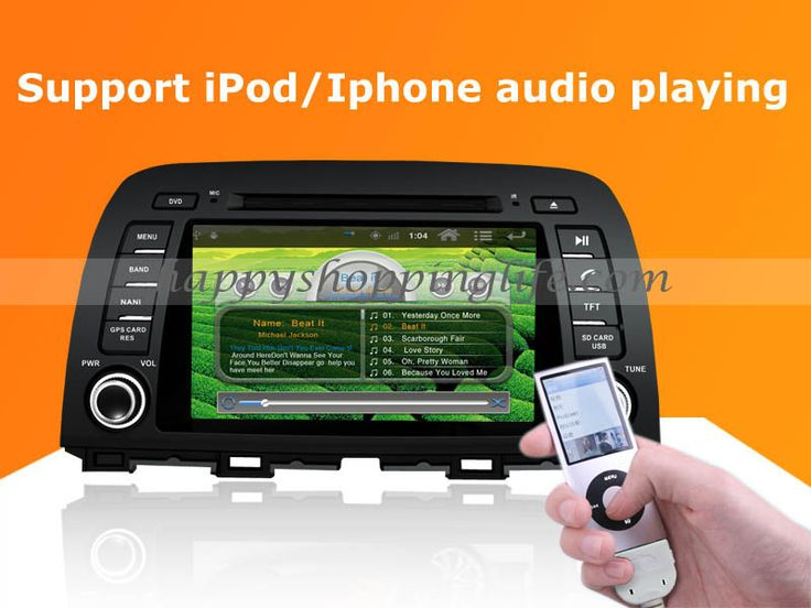 mazda 6 2013 2014 android auto radio dvd gps dtv wifi 3g. Black Bedroom Furniture Sets. Home Design Ideas