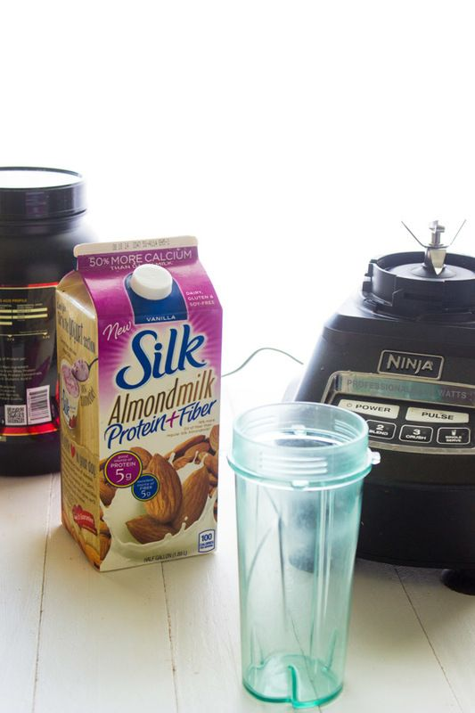 Keeping up my protein with Silk Almond Milk Protein + Fiber - Food Faith Fitness