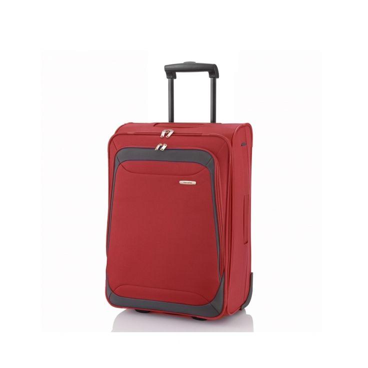 Średnia walizka TRAVELITE Portofino czerwona