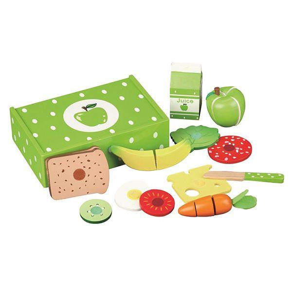 Mamamemo grøn madkasse æble
