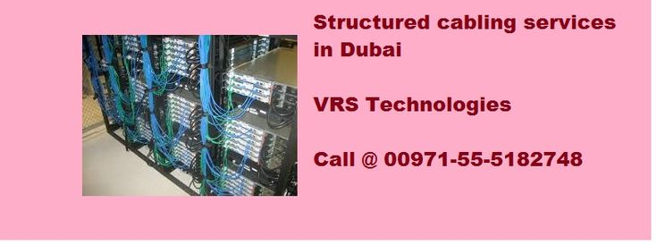 Network cables are using to connect network supported devices, VRS Technologies is a full service network cabling provider with the resource to design and implement structured cabling  services in Dubai, Call us at +971-55-5182748