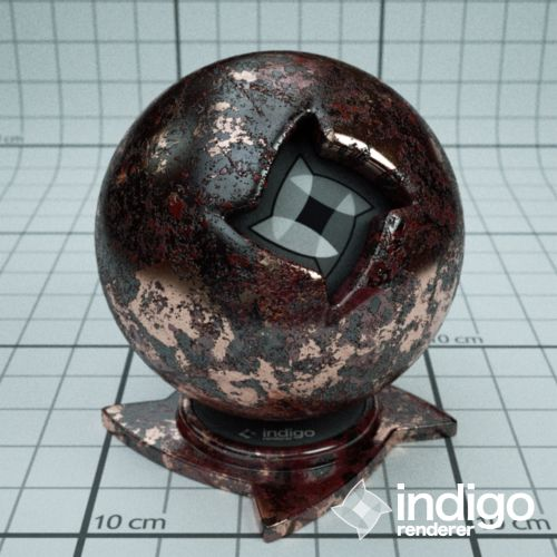 This is cool.  Does it work in Maya or Zbrush?  Ornate Copper | Material database | Indigo Renderer