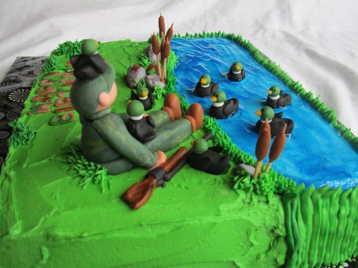 - Duck Hunting Cake