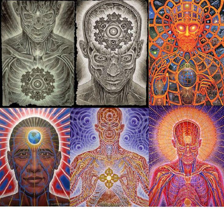 ( Images art de: Alex Grey )........Voici les 5 types de personnalité qui sont ici pour changer le monde La personnalité, c'est ce qui nous permet de nous différencier des autres, d'être unique en quelque sorte. Chaque être humain présente ses propres caractéristiques émotionnelles, morales ou intellectuelles qui le distinguent des autres.........DOCUMENT......