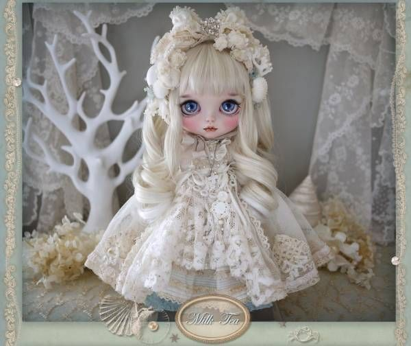 ** Milk Tea ** custom Bryce * .. Sea Moon .. * Admin - Auction - Rinkya! Japan Auction & Shopping