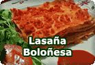 Lasaña boloñesa vegana :: receta vegana
