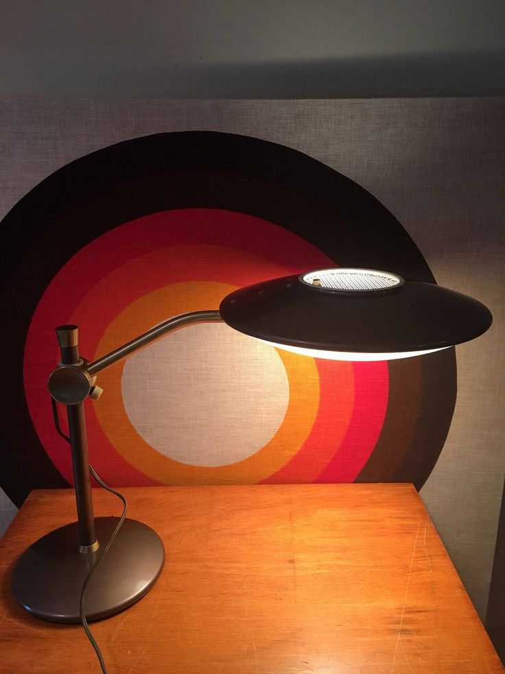 179 best vintage lights images on pinterest light fixtures mid century modern dazor ufo desk lamp flying saucer adjustable lamp atomic modern accent mozeypictures Choice Image