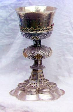 chalice | Chalice in the vestry of the Ipatevskii Monastery in Kostroma .