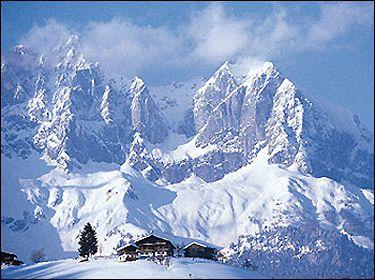 St. Johann Tirol Austria. Great skiing with great friends.