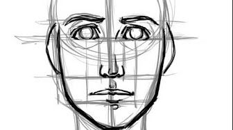 EASY WAY TO DRAW A REALISTIC FACE - YouTube