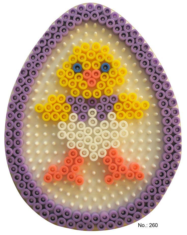 easter egg hama perler pattern hama. Black Bedroom Furniture Sets. Home Design Ideas