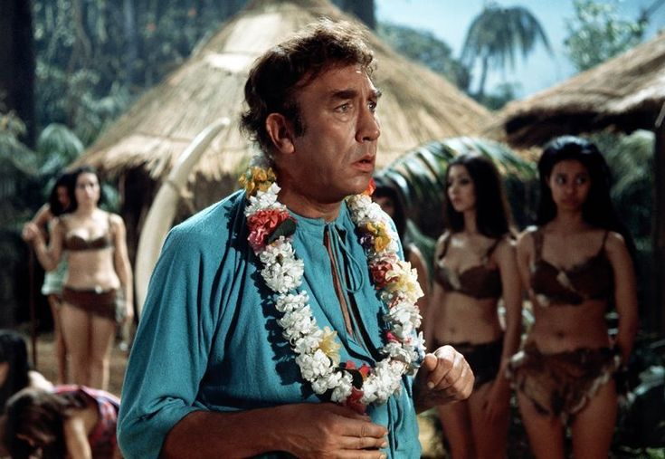 Frankie Howerd in Carry On Up The Jungle. 1970