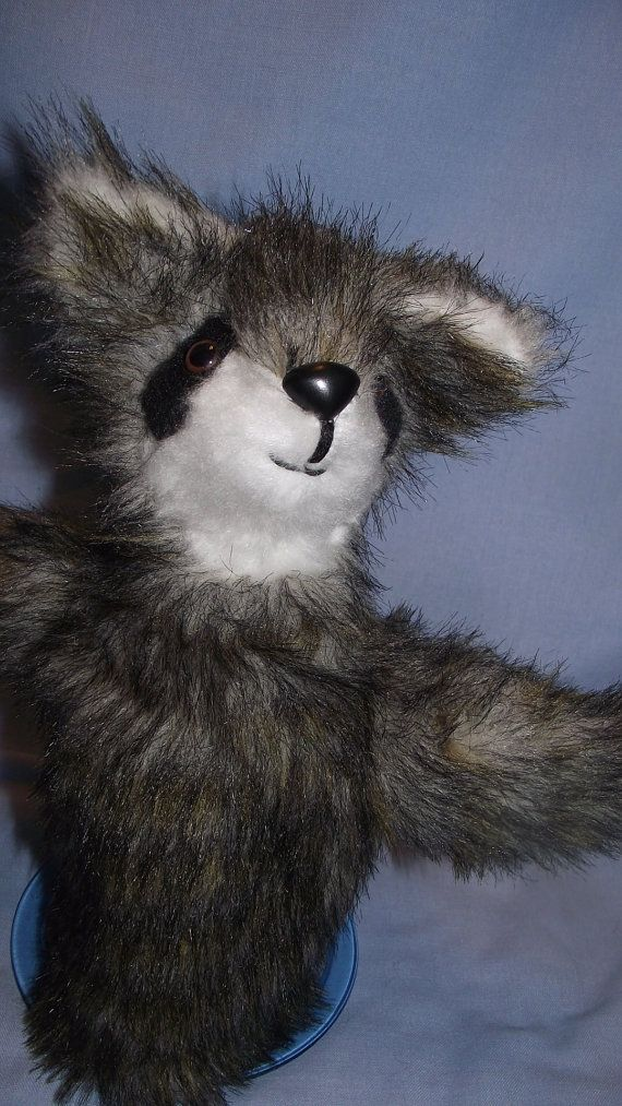INSTANT DOWNLOAD this Raccoon Hand Puppet Pattern! Raccoon Hand Puppet pattern to sew is a fairly easy project! This is for the Raccoon Hand Puppet Sewing Pattern. This pattern comes with great instructions, full size pattern and a picture of the hand puppet you see here.  This