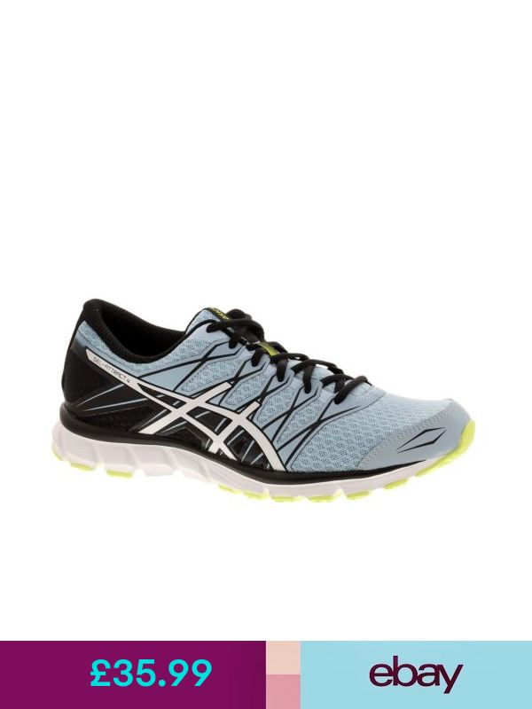 the latest 9cddf 0a466 Womens Ladies ASICS Gel-Attract 4 Running Shoes Trainers Sneakers - Blue  Black   Products   Pinterest   Products