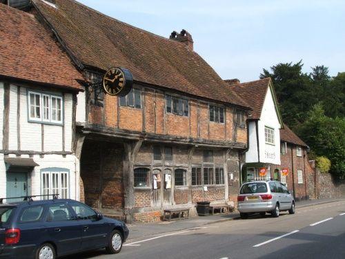 West Wycombe village 1980 - 1983