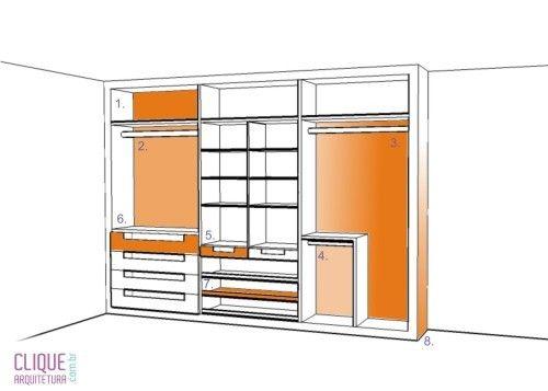 Se você já tem um closet ou pretende ter um, é preciso saber algumas coisinhas sobre organização. Arrumar as peças por cor é importa...
