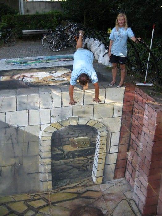 97 best street art images on pinterest 3d chalk art art for Koi garden sas