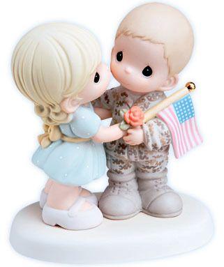 OHHH MYYYY GOSSHHH!!  new Precious Moments figurine MY SOLDIER HERO