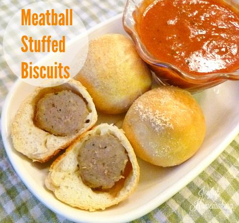 Leftover Meatloaf Ideas and Meatball Stuffed Biscuits - Joyful Homemaking