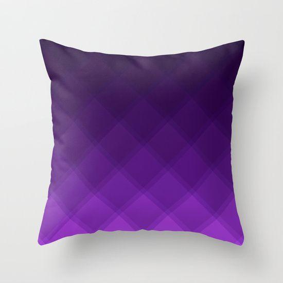 Grape Tile pattern pillow