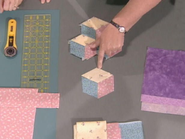 16 best Tumbling block quilts images on Pinterest | Kid quilts ... : baby block quilt - Adamdwight.com