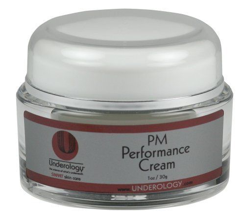 Underology PM PERFORMANCE CREAM 1oz (30ml) by Underology. $39.00. Provides Gental Exfoliation While You Sleep. Duel Performance Night Cream. Moisturizes, Nourishes and Protects. Reduces Signs Of Aging & Fine Lines. 10-12% Glycolic Acid. Wake up loving your skin! This is an excellent dual night performance cream for the person on the go or anyone who wants to keep it simple. You will achieve exfoliation and moisturizing with one product. PM Performance contains Glycolic Aci...
