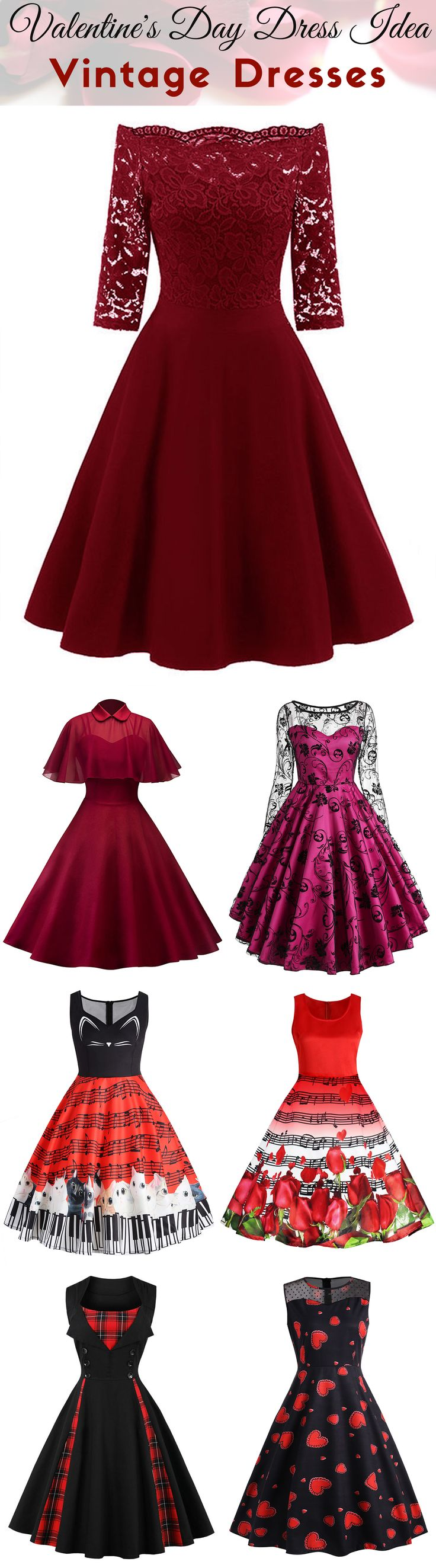 Up to 56% off + Free Shipping | Valentine's Day Dress Idea | #valentinesday #womenfashion #dress